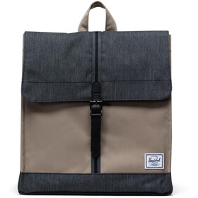 Herschel City Mid-Volume Plecak 14l, timberwolf/black denim